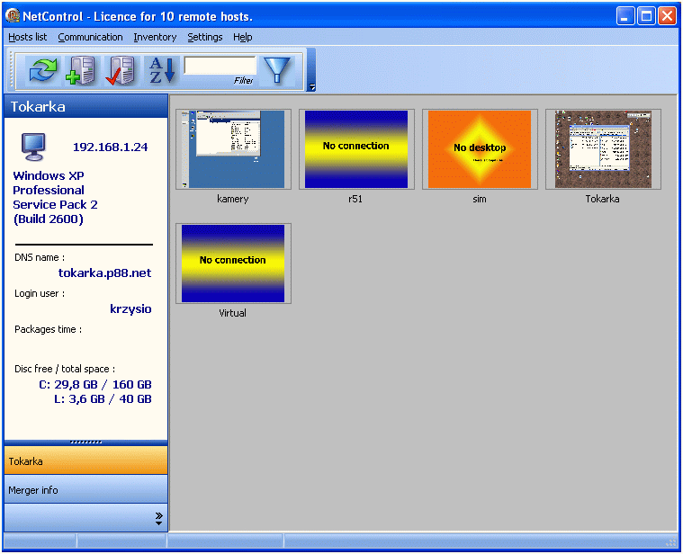 net controls download