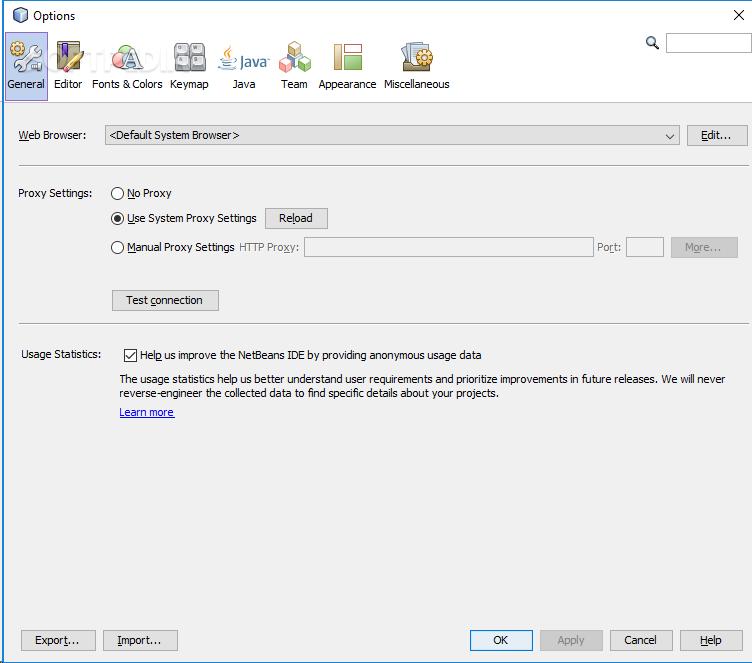 Download NetBeans IDE 11 0