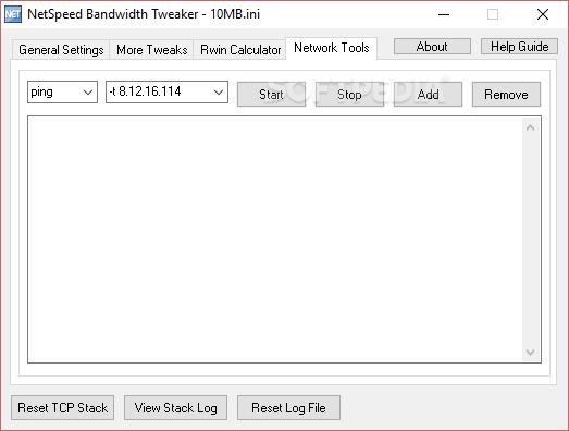 netspeed bandwith tweaker 1.0.0