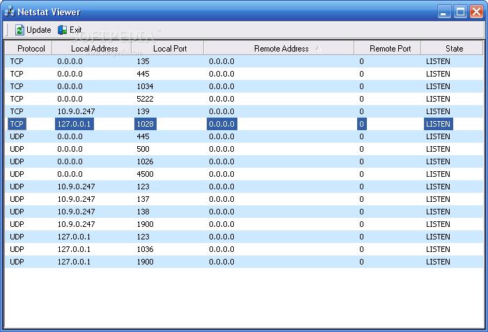 Download Netstat Viewer 1 0