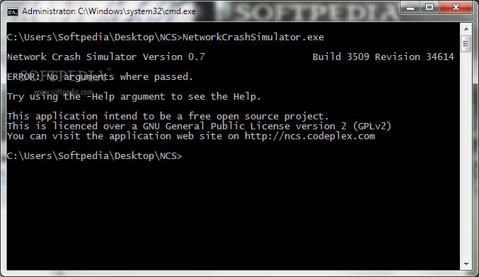 Download Network Crash Simulator 0.7 Build 3509 Revision 34614 Beta