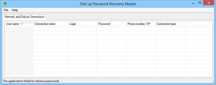 Download Dial-up Password Recovery Master 1 3 Build 1 3 0 7