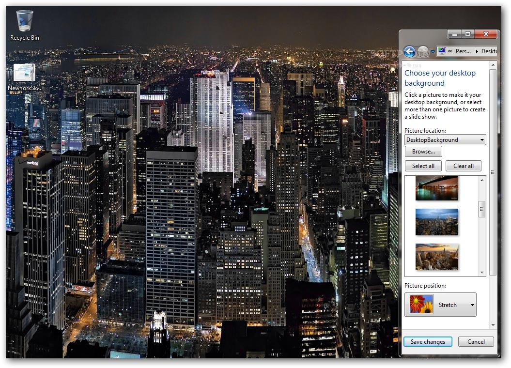 Download New York Skyline Windows 7 Theme 1.00