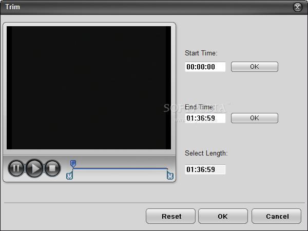Nidesoft DVD to AVI Converter (free version) download for PC