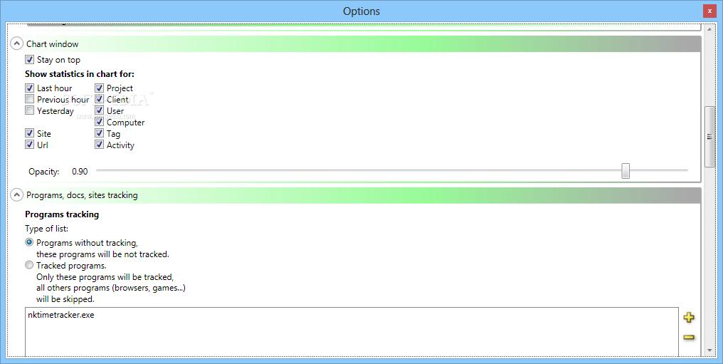 NkTimeTracker screenshot #2