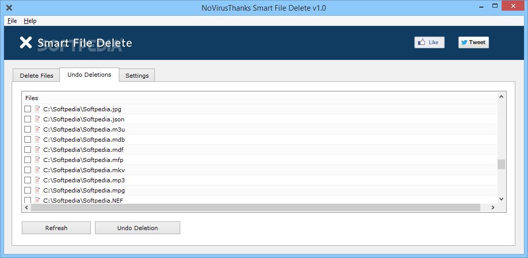Download NoVirusThanks Smart File Delete 1 1 0 0