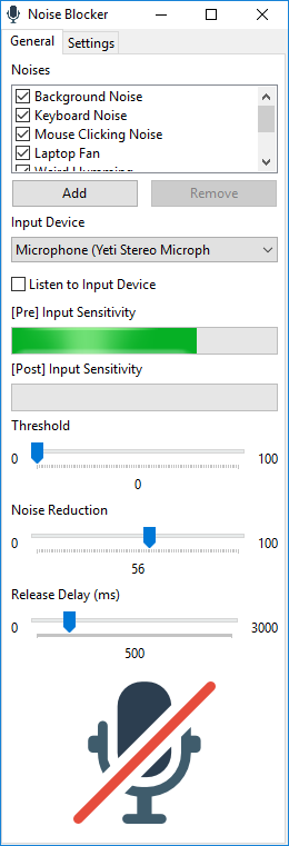 Download Noise Blocker 1 2 6
