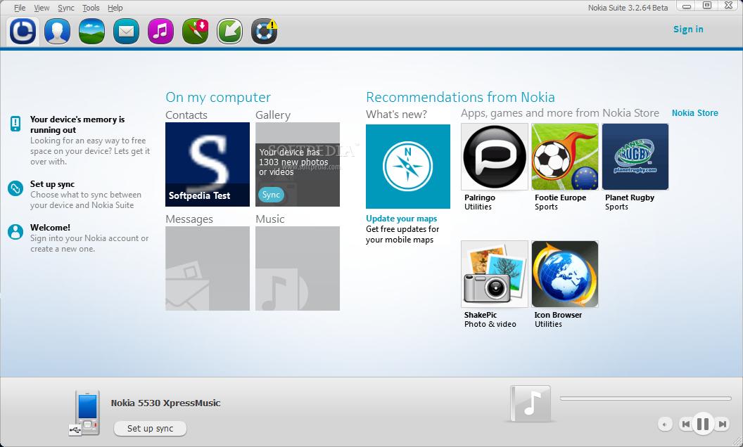 Download Nokia Suite 3 8 30