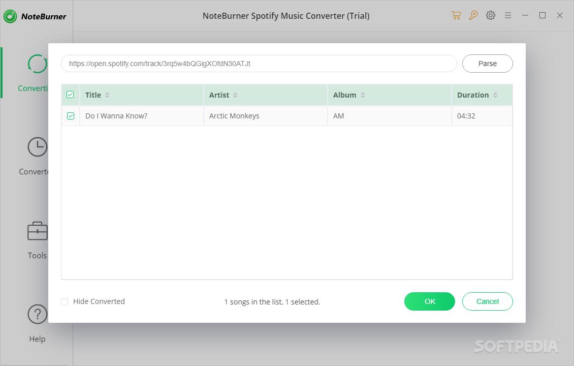Download NoteBurner Spotify Music Converter 2 0 1
