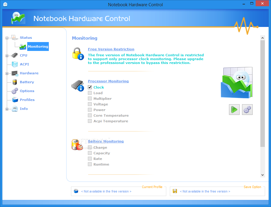 notebook hardware control nhc