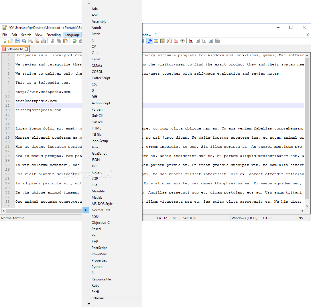 xml notepad free download for windows 7