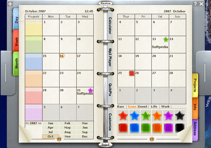 Calendar For Organization : Download noto personal organizer