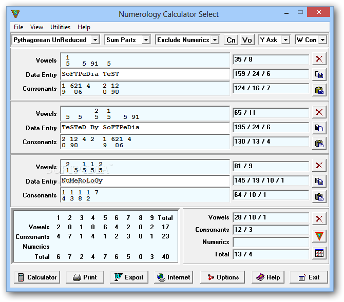 Download Numerology Calculator Select 1 41