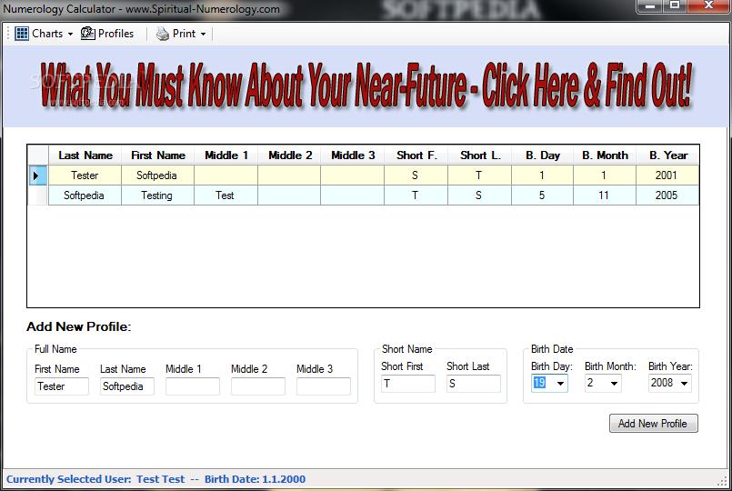 Download Numerology Calculator