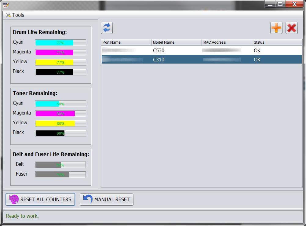 Download OKI Printer Resetter Utility 2 0 20