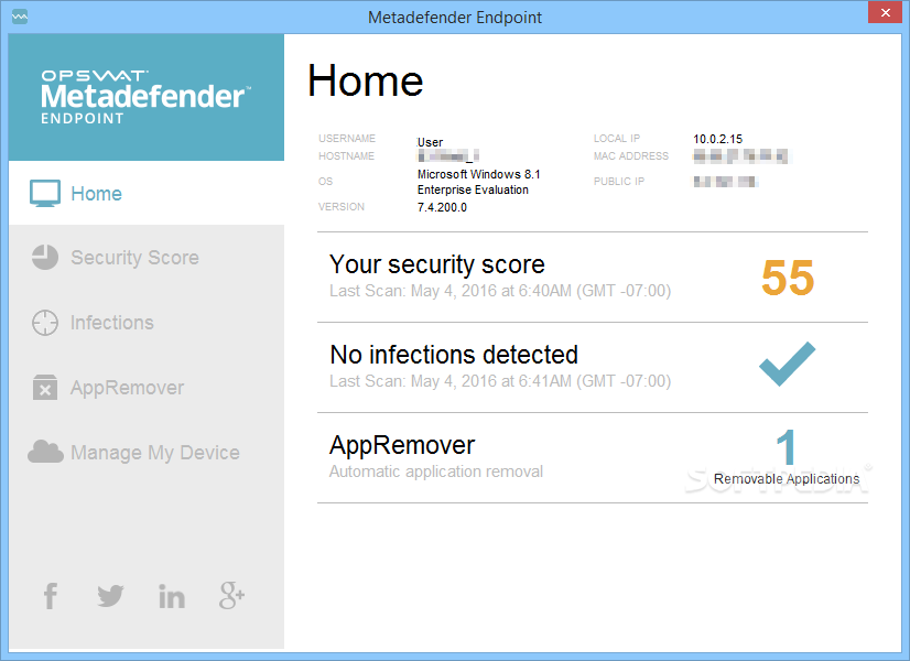Endpoint Security Management For Mac 1.0 Screen shot
