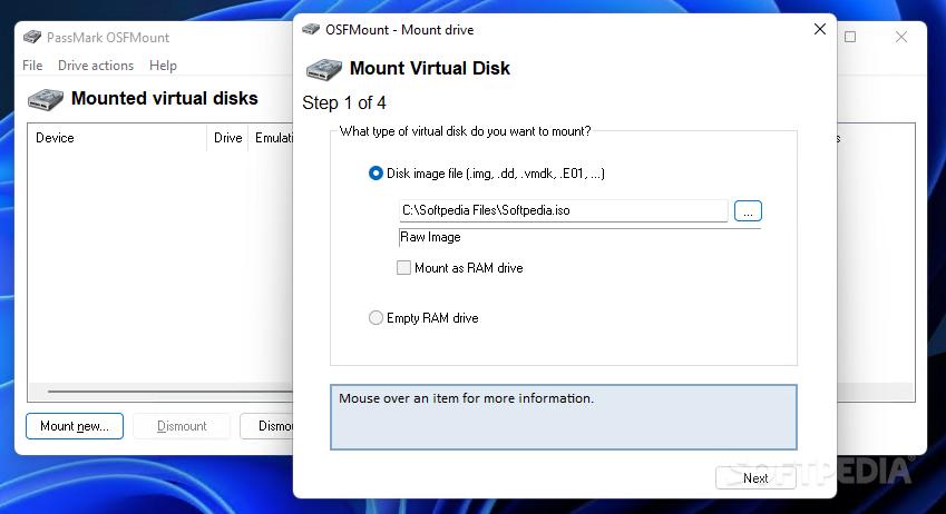 Download OSFMount 3 0 1005