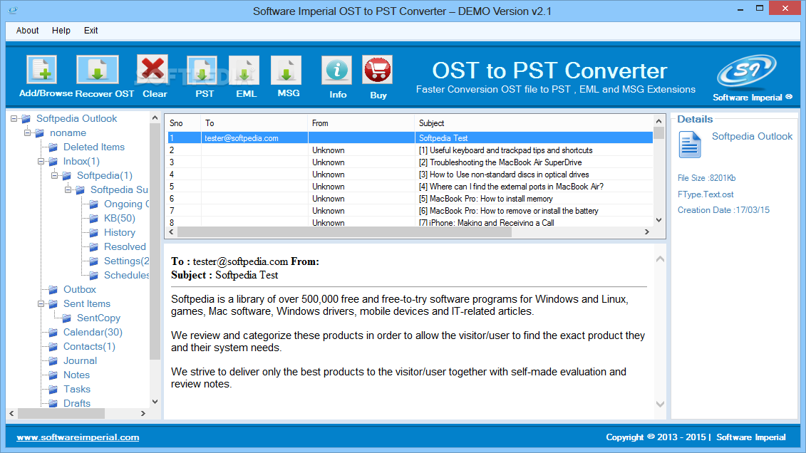 Download Software Imperial Ost To Pst Converter 3 1