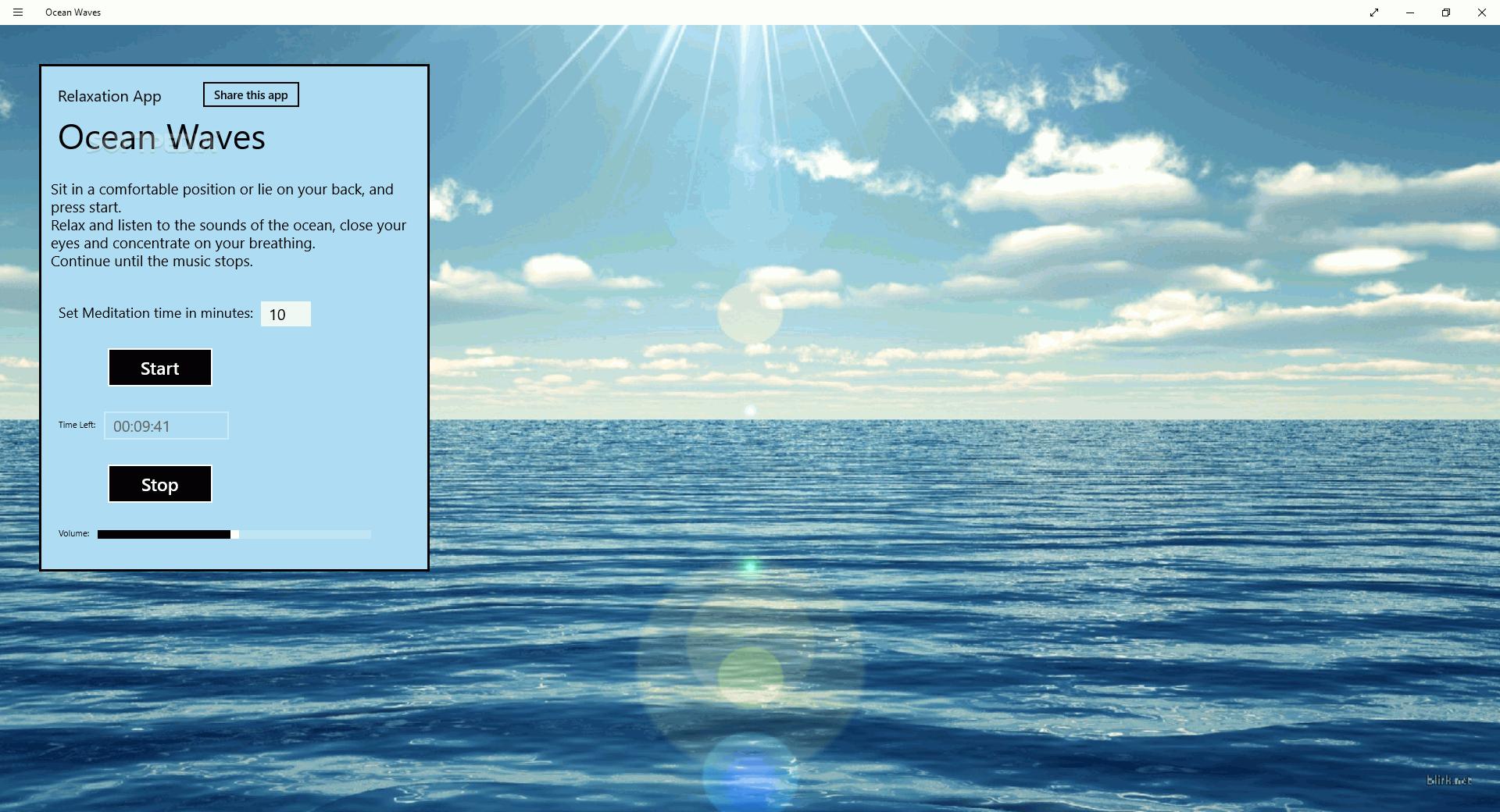 Download Ocean Waves for Windows 10/8 1 1 0 0 2