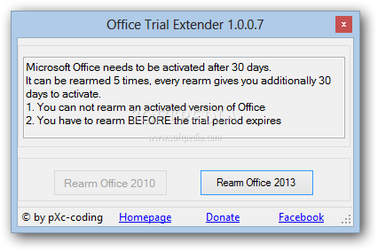 ms office 2013 30 day trial