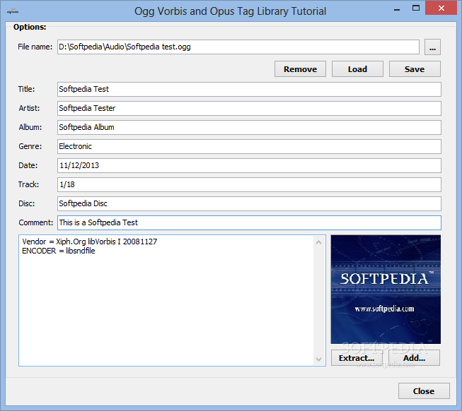 Download Ogg Vorbis and Opus Tag Library 1 0 26 46