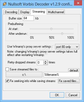 Download OggVorbis decoder plugin for Winamp 1 2 9