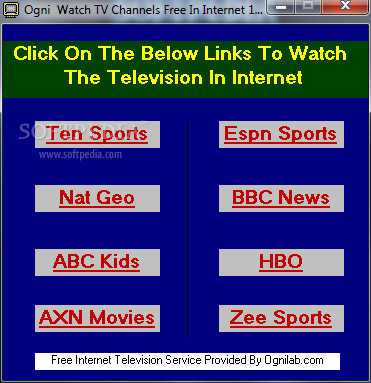 Download Ogni Internet Live TV Watch 1 00