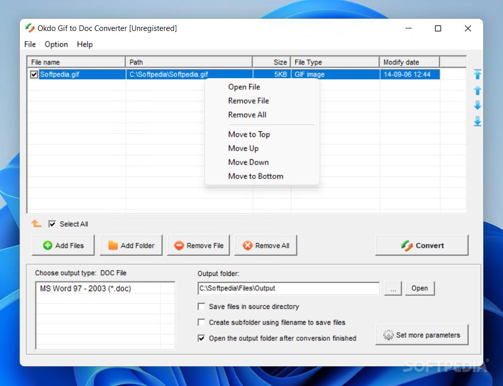 Download Okdo Gif to Doc Converter 5 6