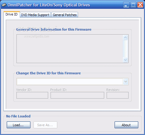 Download OmniPatcher for LiteOn/Sony Optical Drives 2 4 5