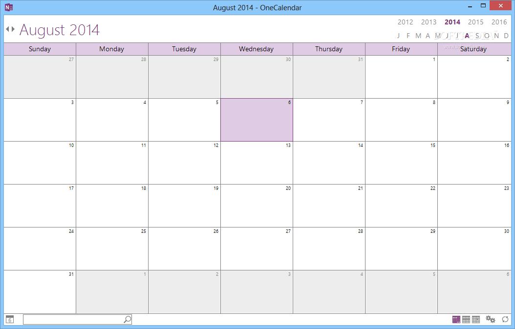 One Calendar.Download Onecalendar 1 17 5 0