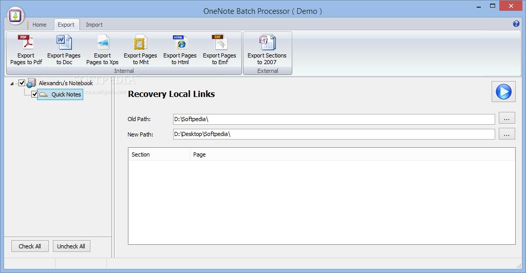 Download OneNote Batch Processor 9 3 1 61