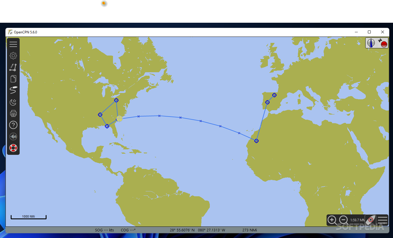 free marine navigation software for windows 7