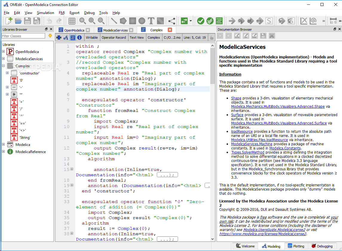 Download OpenModelica 1 13 1 / 1 14 0 Dev 26648