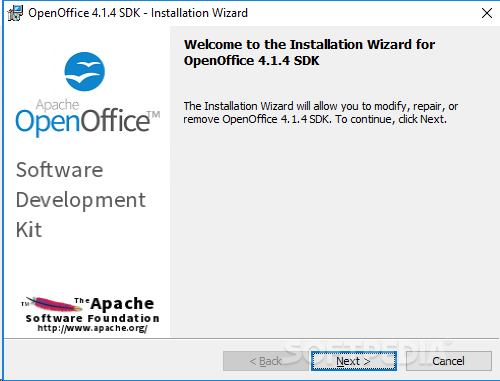 Download apache openoffice sdk 4 1 5 4 2 0 m1 build 9800 - Free download open office org for windows 7 ...