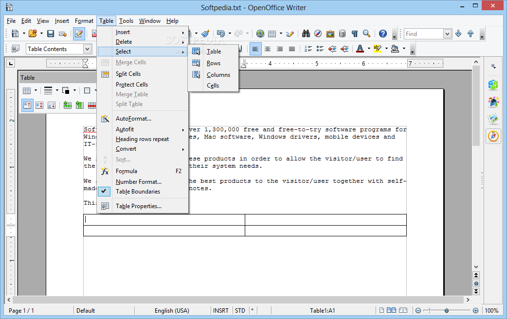 Apache openoffice download - Open office free download for windows 7 ...