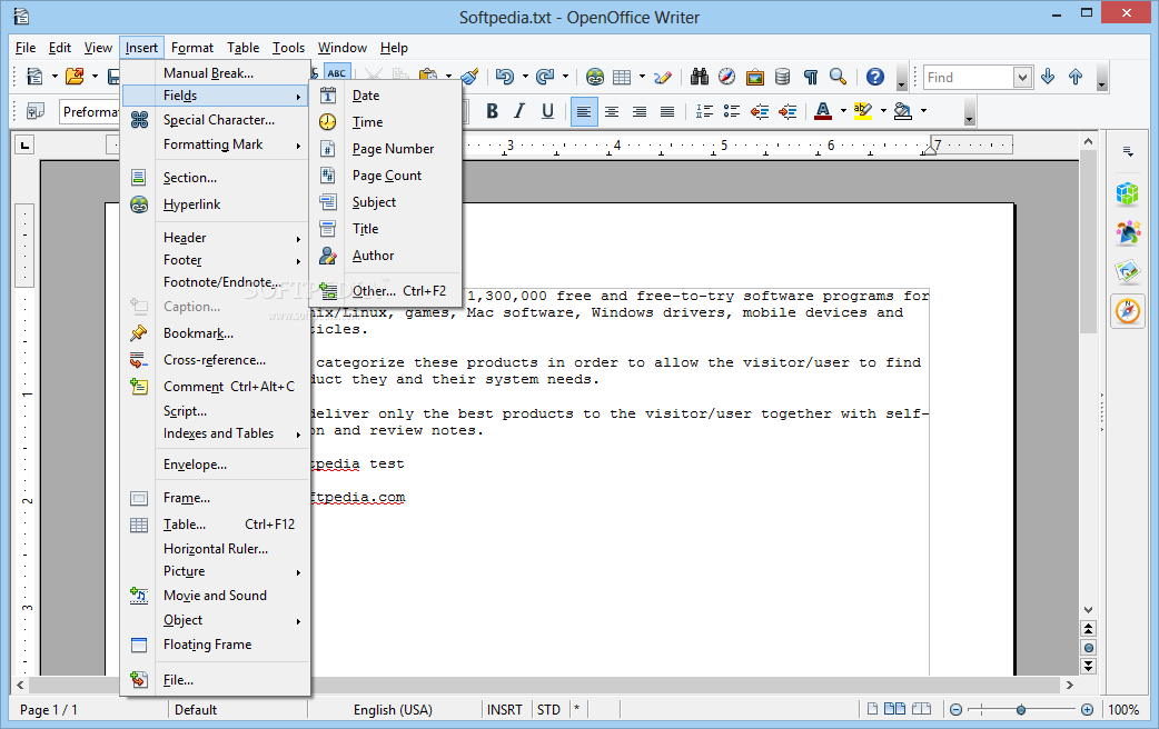 Undergroundsoft blog - Free download open office org for windows 7 ...