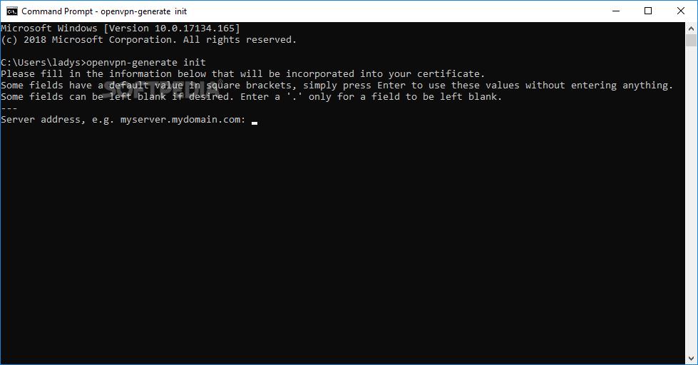 Download OpenVPN Configuration Generator 1 0 5