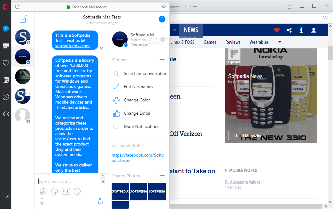Opera Web Browser screenshot 11