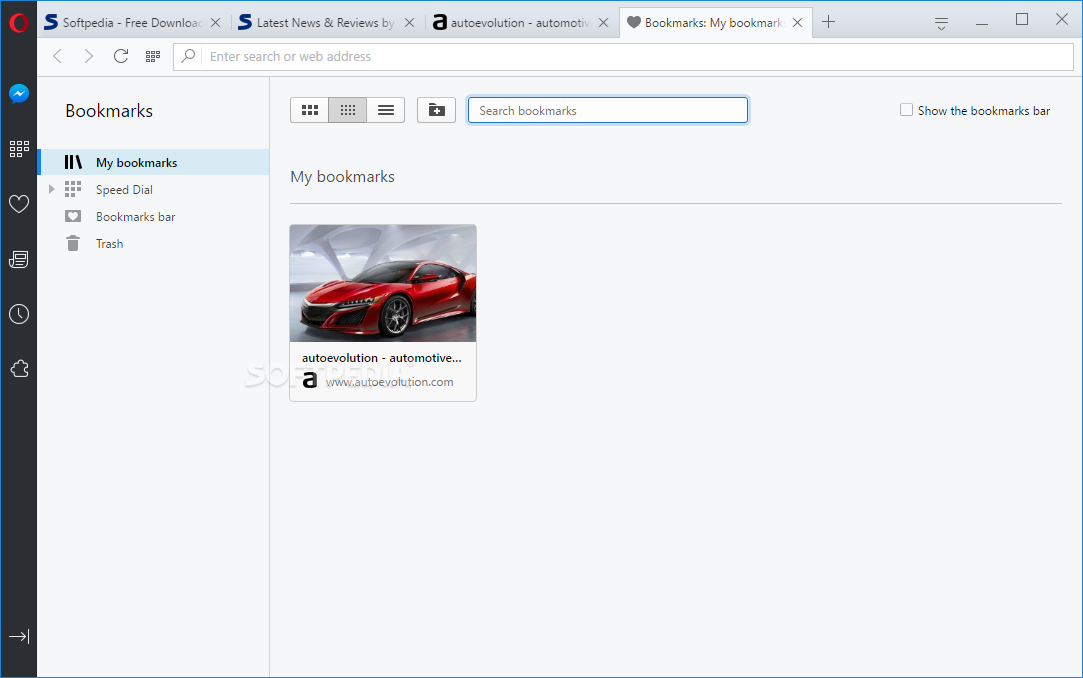 Opera Web Browser screenshot 12