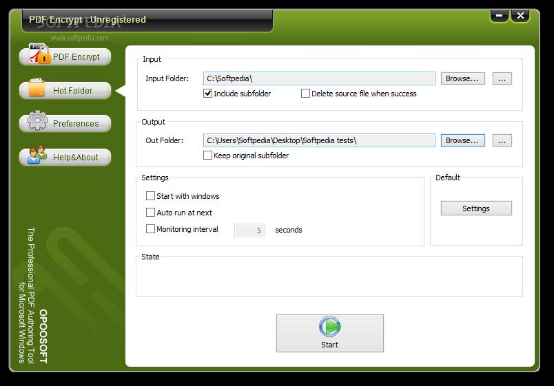 Download Opoosoft PDF Encrypt GUI + Command Line 5 2