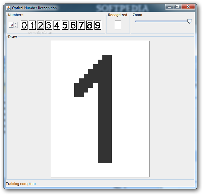 Download Optical Number Recognition 0 03