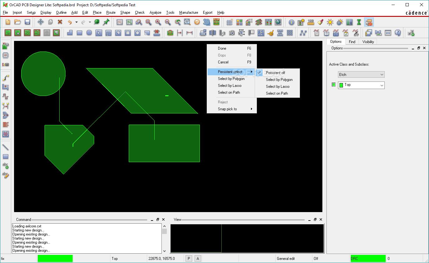 Download OrCAD PCB Designer Lite 17.20.002