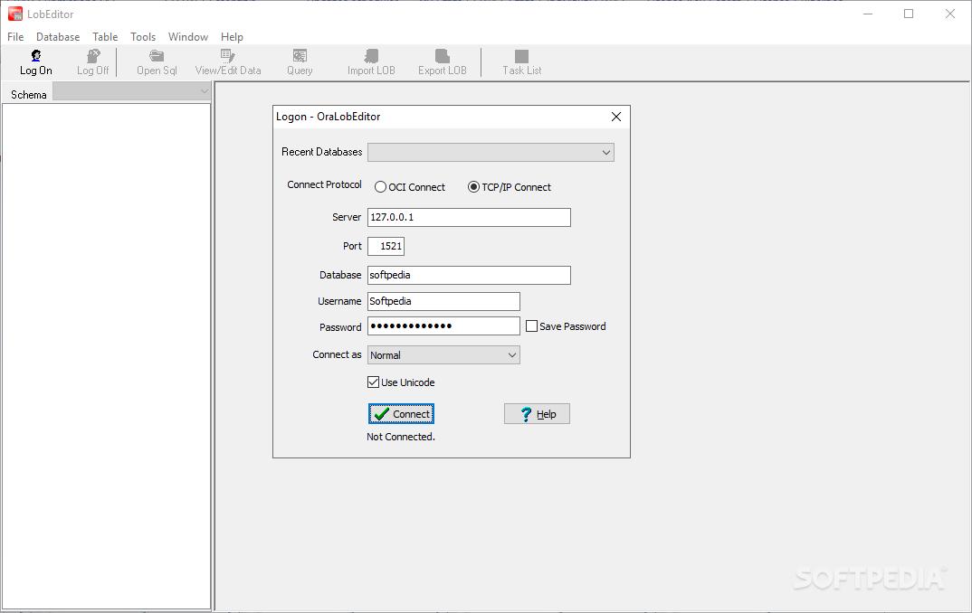 Download OraLobEditor 4 5 Release 1 Build 190110