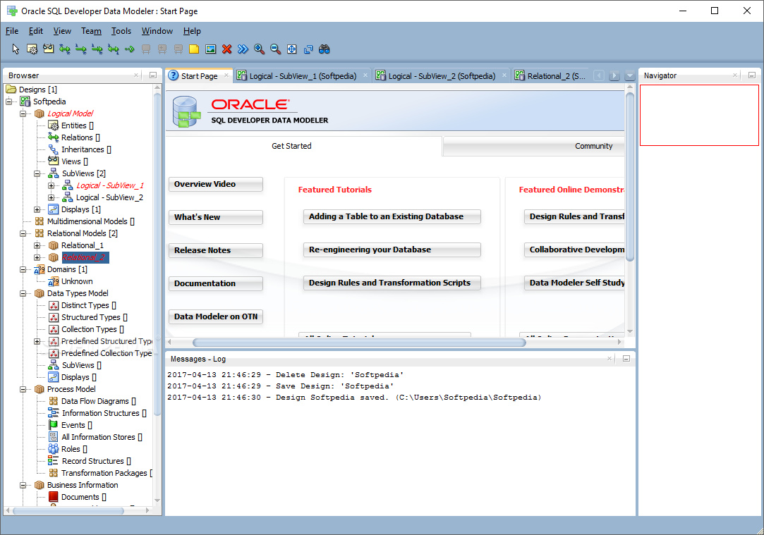 Download Oracle SQL Developer Data Modeler 20.2.0.167 Build 1538