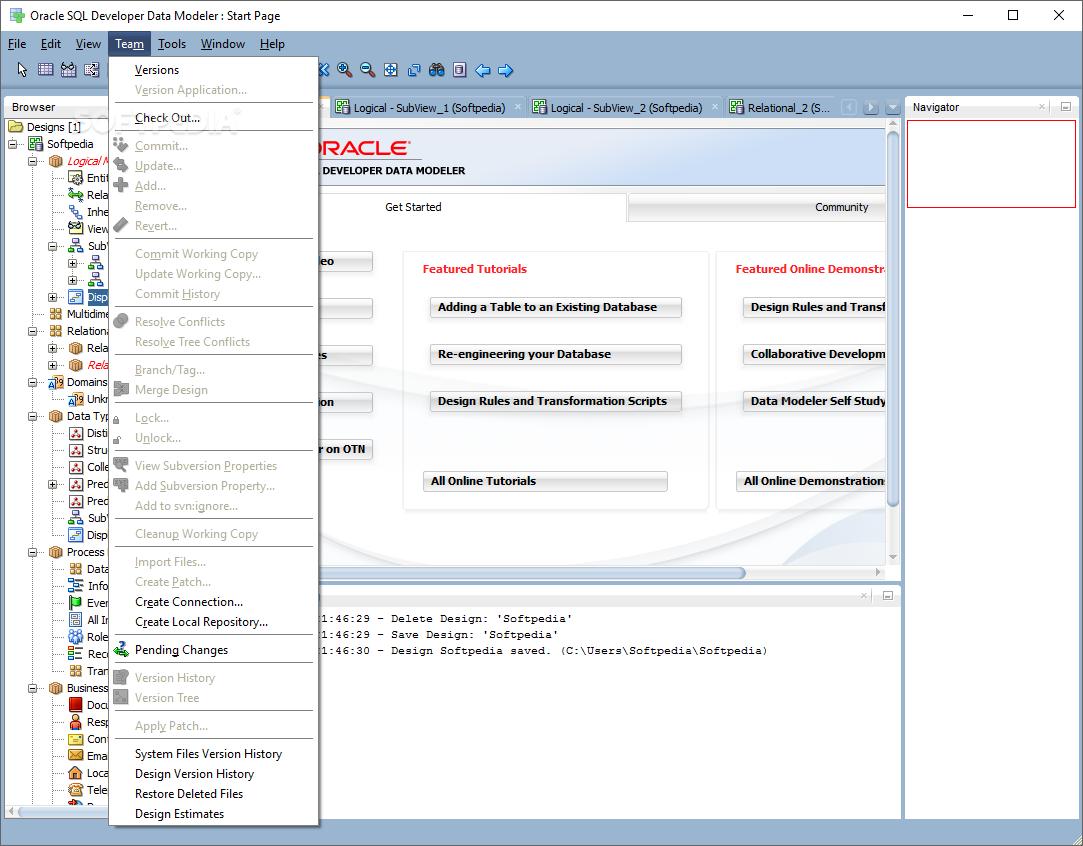 Download Oracle SQL Developer Data Modeler 19.1.0.081 Build 081.0911