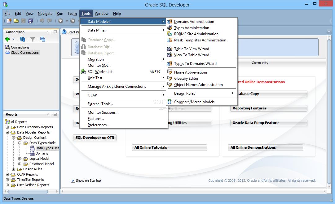 Download Oracle SQL Developer 19 2 0 206 2117