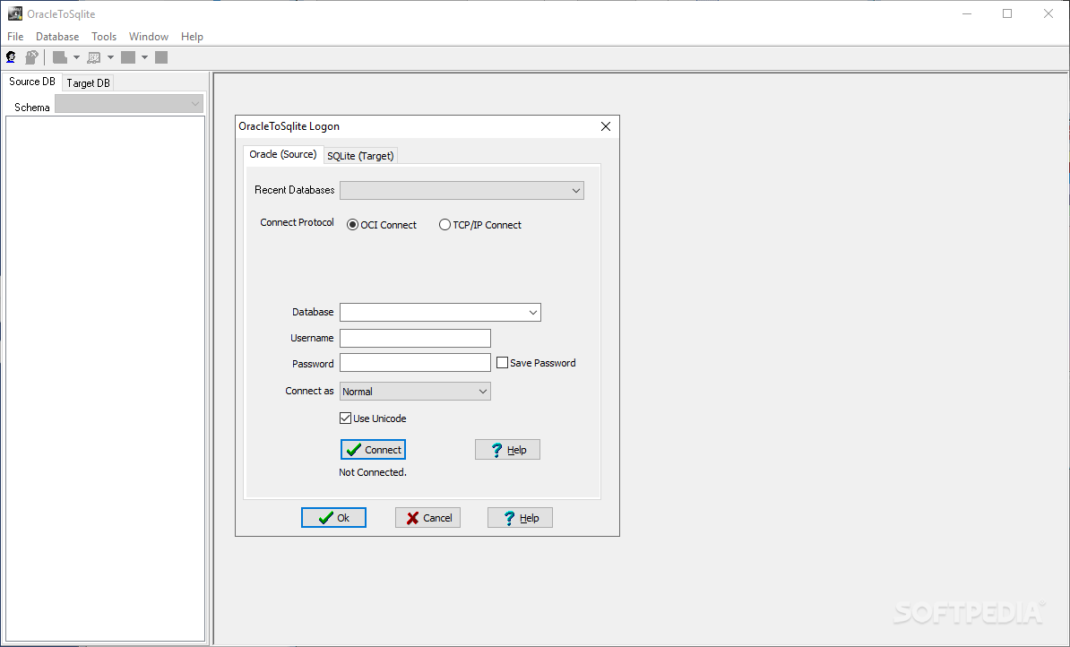 QnA VBage OracleToSqlite 2.3 Release 1 Build 190108 (Trial)