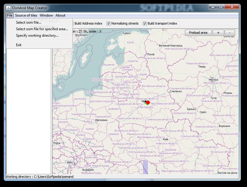 Download OsmAnd Map Creator 1 1 0