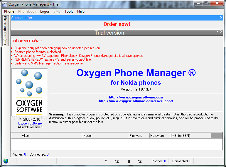 Download Oxygen Phone Manager II 2 18 15 3