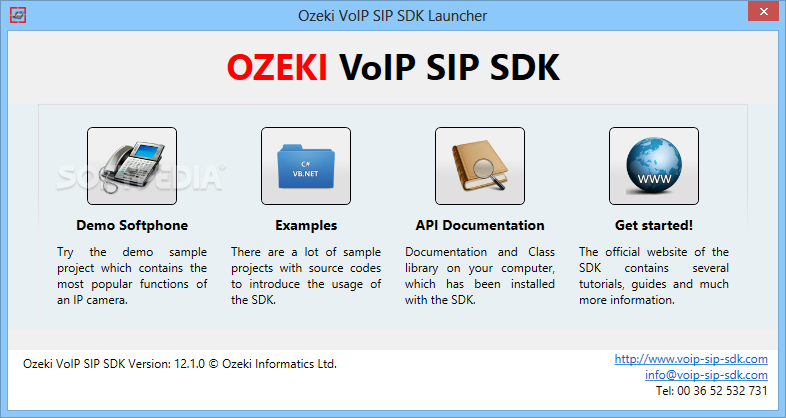 Download Ozeki VoIP SIP SDK 12 1 0